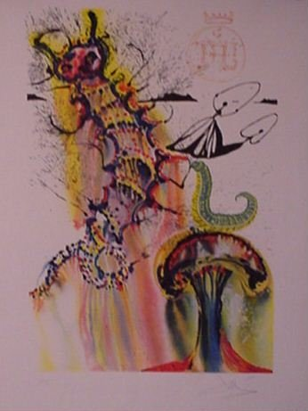 2932: Dail Lithograph Pencil Signed & Numbered