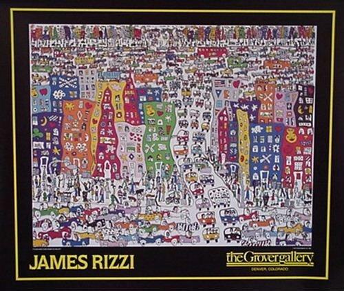 James Rizzi   grover gallery denver Kunstdruck