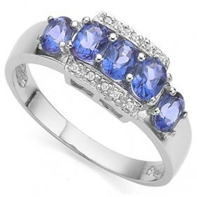 0.925 Silver Vintage Style Diamond Accent Pendant