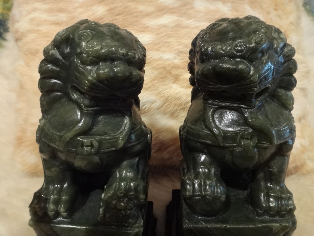 FOO LIONS (PAIR) CHINESE
