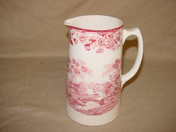 8002: Royal Staffordshire Tonquin milk pitcher