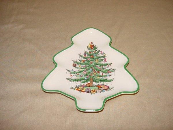 8003: Spode Christmas Tree dish