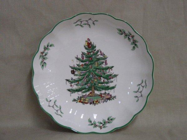 8004: Spode Christmas Tree serving bowl