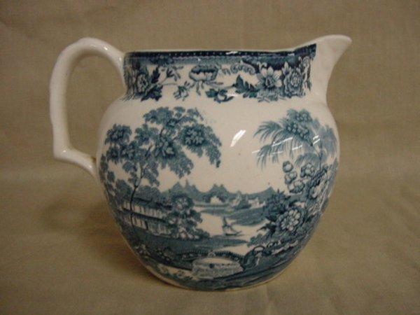 8007: Royal Staffordshire Tonquin milk pitcher