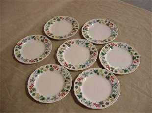 Wedgwood Richmond set of 7 bread/butter plates