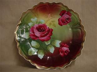 Royal Vienna hand-painted plate