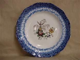Flo-blue plate