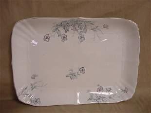 Large serving platter by John Maddock & Sons