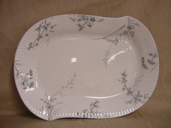 8019: Johnson Brothers Rose Dale serving platter