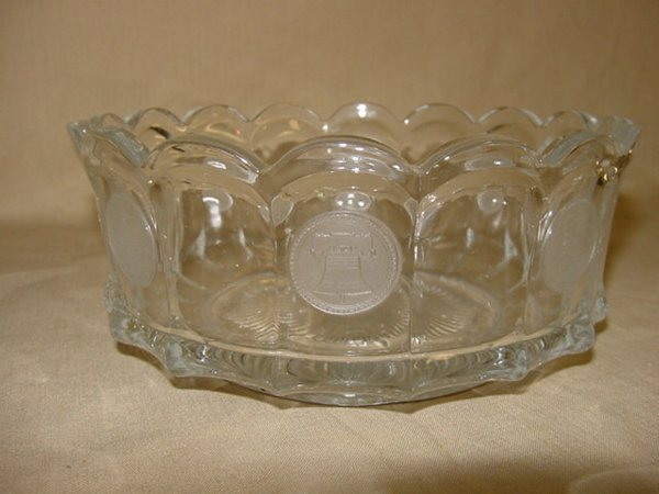 8020: Fostoria Coin glass crystal bowl