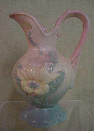 Hull floral vase, sign A-14