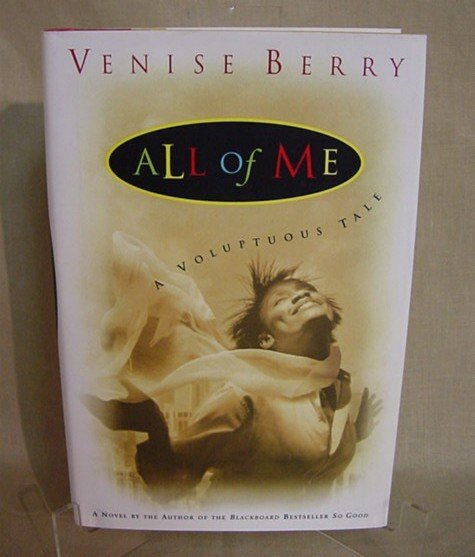 504: All of Me by Venise Berry, 2000, 1st printing, aut
