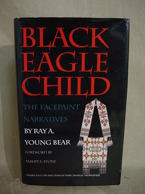 514: Black Eagle Child by Ray A Young Bear, 1992, 1st E