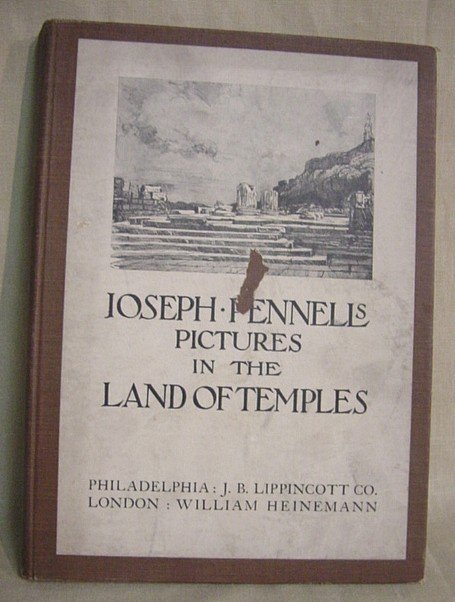 518: Pennell's Land of Temples by Lippincott