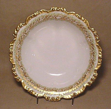 701: Limoges gold-trim bowl