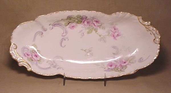 708: WM Guerin Limoges relish tray