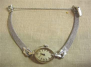 756: Girard Perreguax ladies watch with safety chain