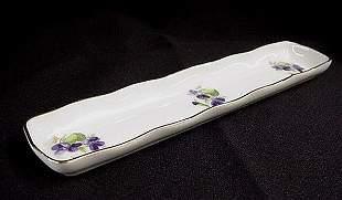 Limoges France long pin dish