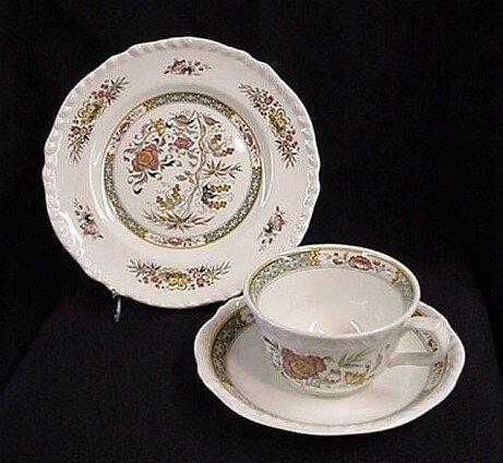 1007: Adams Jeddo 3 piece china set