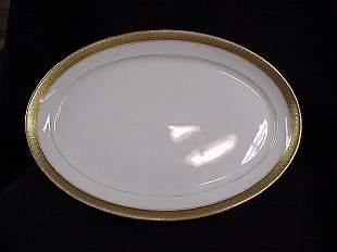 Limoges oval serving platter
