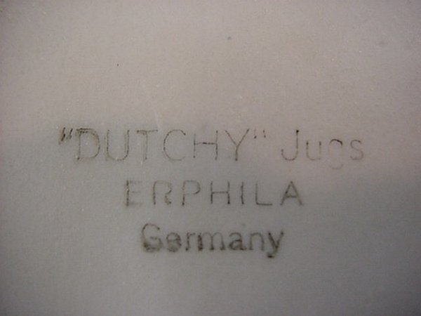 "1062: ""Dutchy"" jugs Germany miniature jug - 2"