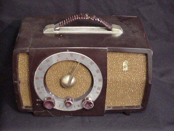 1500: Old Zenith radio
