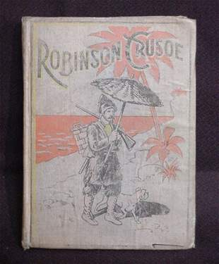 """""""Robinson Crusoe"""" by Daniel Defoe"""