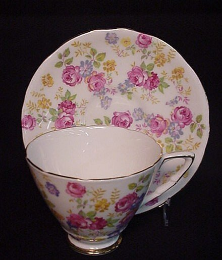2000: Royal Stafford June Rose cup & saucer