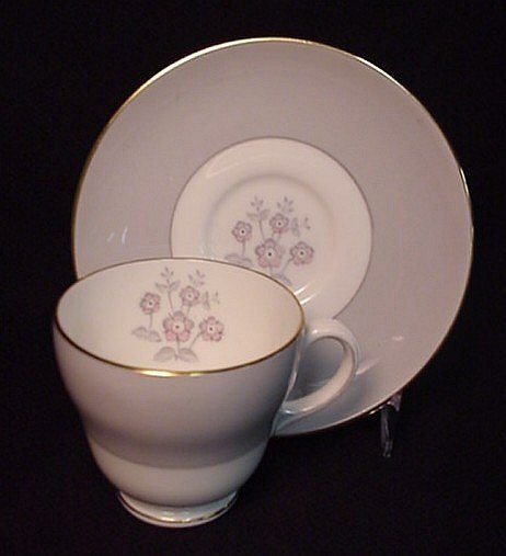 2005: Wedgwood bone china cup & saucer