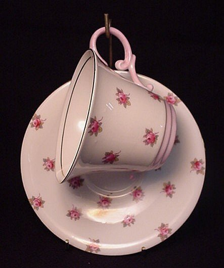 2007: Aynsley bone china cup & saucer