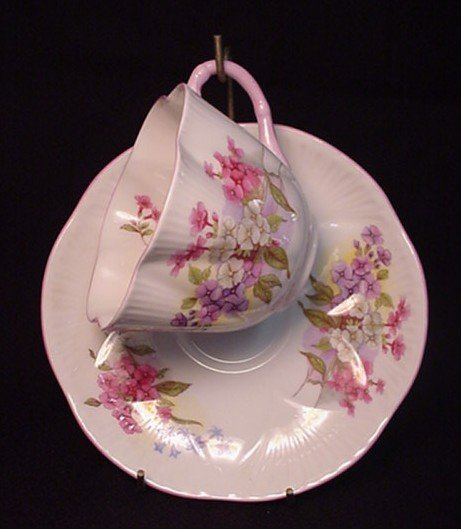 2008: Shelley Stocks bone china cup & saucer