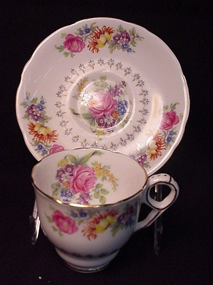 2012: Royal Stafford Dainty Spray cup & saucer