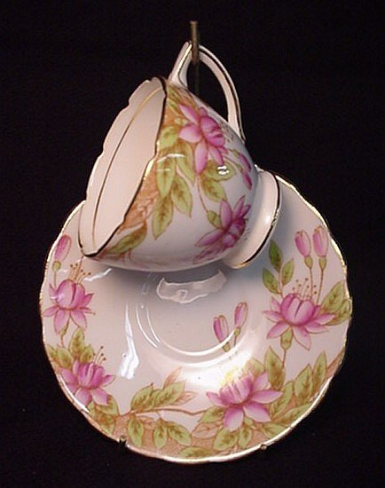2022: Rosina bone china demitasse cup & saucer