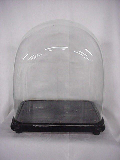 2087: Display crystal globe and base