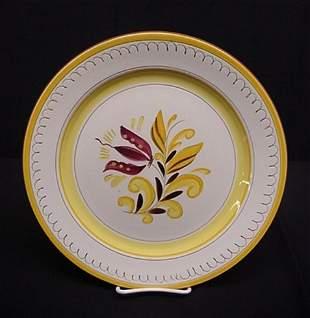 Stangl Provincial round chop platter