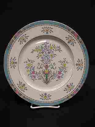 Lenox Blue Tree dinner plate