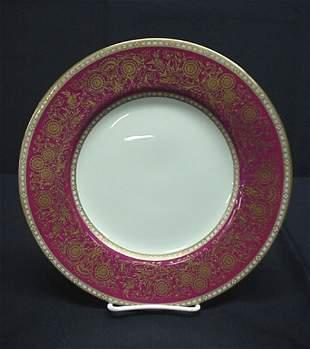 Minton England fancy dinner plate