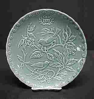 Faience de St. Amand 1970 limited edition plate