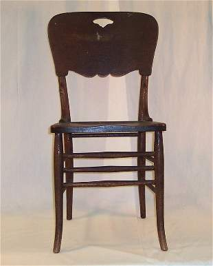 PRESSED BACK CHAIR #1