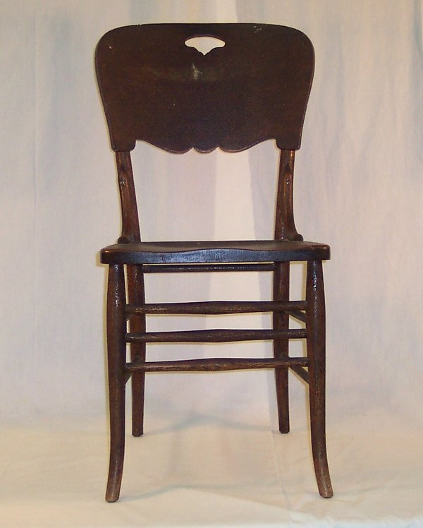 2: PRESSED BACK CHAIR #1