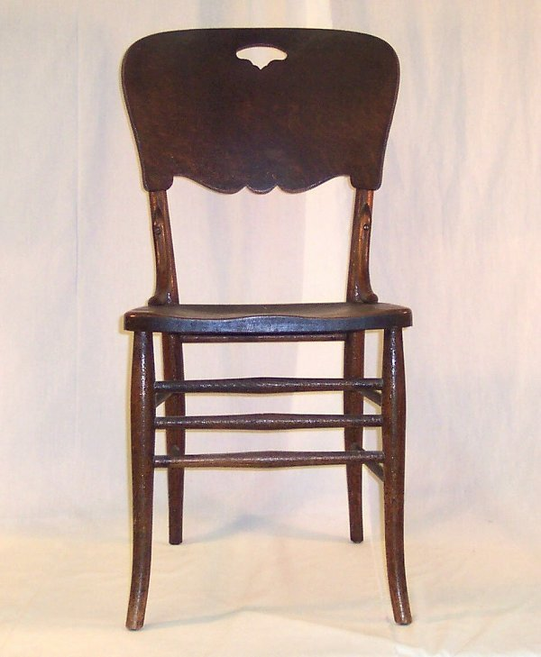 4: PRESSED BACK CHAIR #3