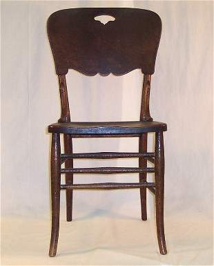 PRESSED BACK CHAIR #4