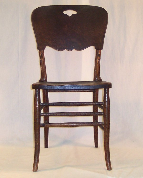5: PRESSED BACK CHAIR #4