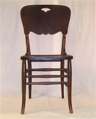 PRESSED BACK CHAIR #5