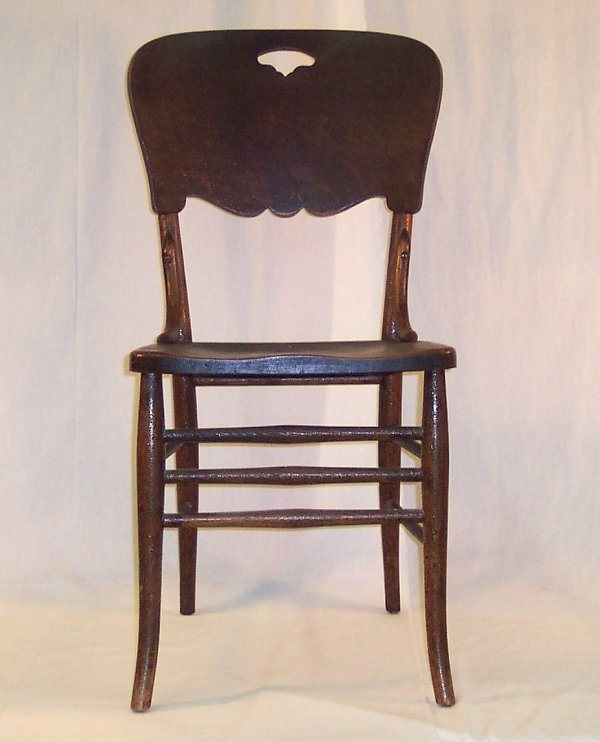 6: PRESSED BACK CHAIR #5