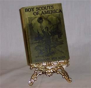 "BOY SCOUTS ""HANDBOOK FOR BOYS"" 1912"