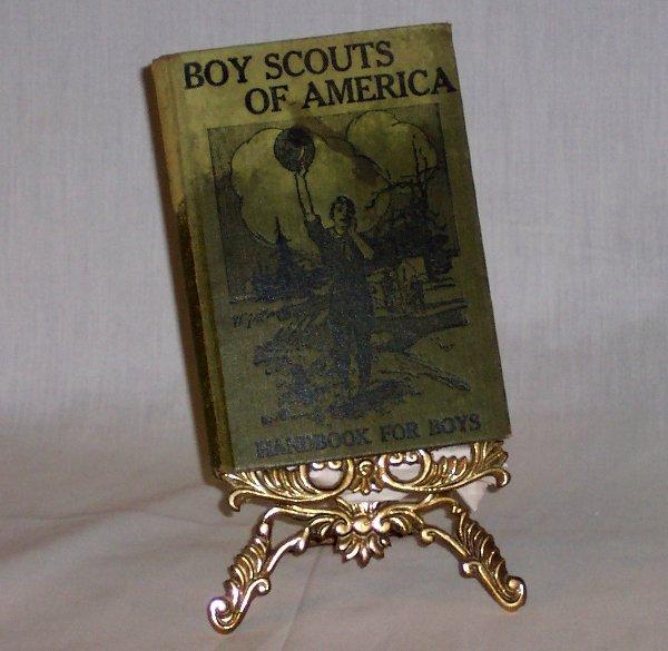 "20: BOY SCOUTS ""HANDBOOK FOR BOYS"" 1912"