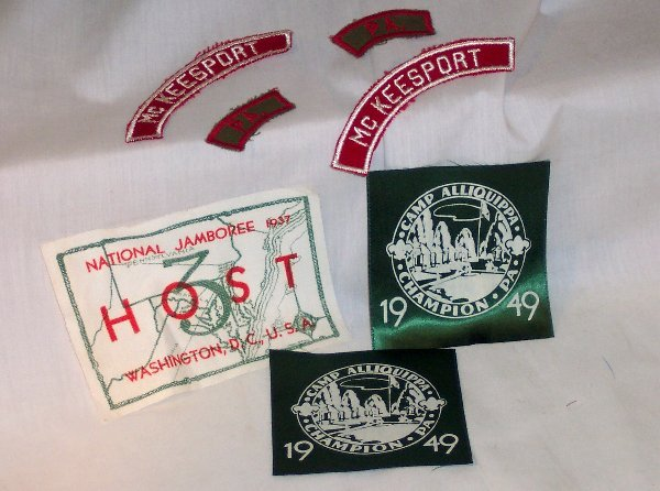 23: ASSORTED BOY SCOUT PATCHES