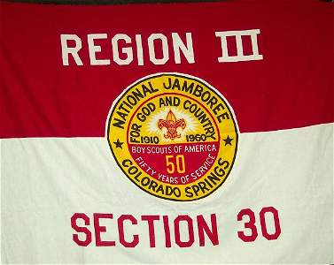 52: NATIONAL JAMBOREE / REGION #3 FLAG