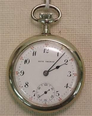 """Seth Thomas """"Centennial"""" pocket watch"""